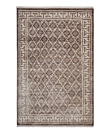 CLOSEOUT! Locket S1127 Champagne 5' x 8' Rug