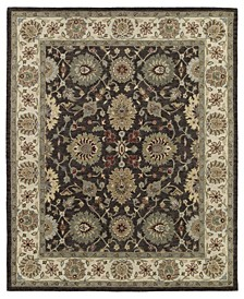 Solomon Elijah-51 Brown 9' x 12' Area Rug