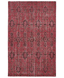 "Restoration RES01-25 Red 5'6"" x 8'6"" Area Rug"