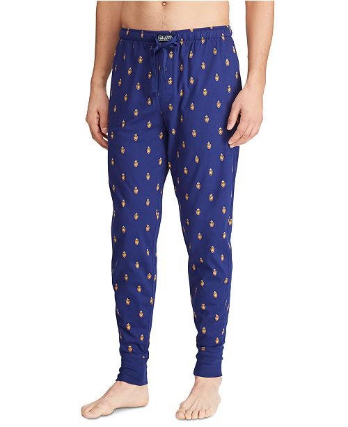 Polo Ralph Lauren Men's Knit Pony Player Pajama Joggers
