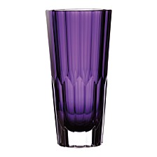 "Waterford Jeff Leatham Icon 12"" Amethyst Vase"