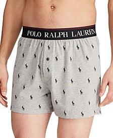 Men's Knit Boxers