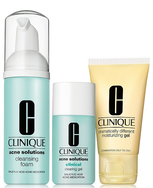 Clinique 3-Pc. Acne Solutions Clinical Clearing Set
