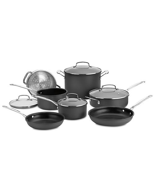 Cuisinart Chefs Classic Hard Anodized 11-Pc. Set