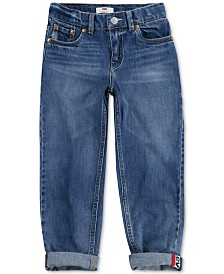 Levi's® Little Boys 502™ Regular-Tapered Fit Stretch Jeans