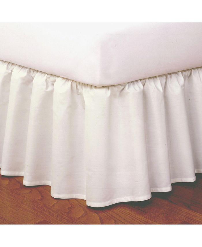 Fresh Ideas - Magic Skirt Ruffled King Bed Skirt