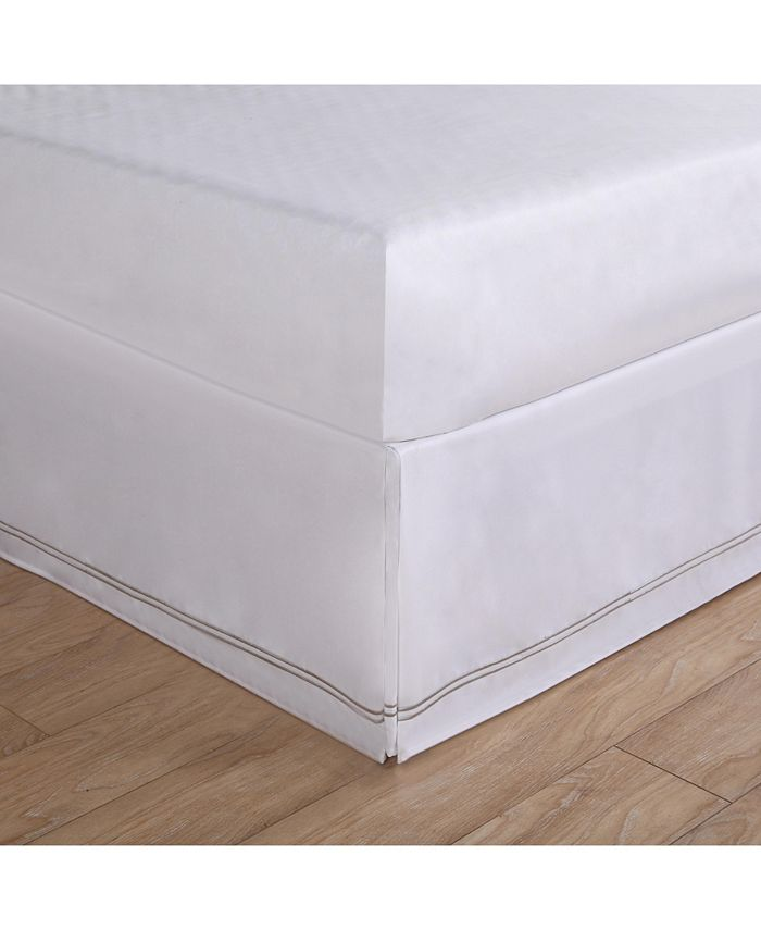 Lux Hotel - Baratta Embroidered California King Bed Skirt