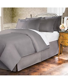 Belles and Whistles Premium 400 Thread Count Extra Long King Bed Skirt