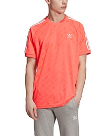 adidas Men's Originals Jacquard Logo-Print Jersey
