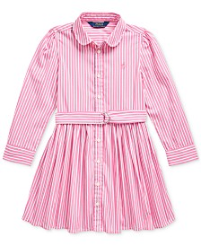 Polo Ralph Lauren Little Girls Bengal Stripe Dress