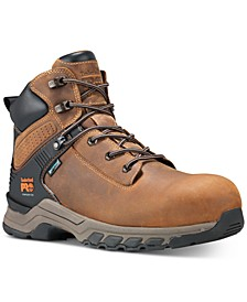 "Hypercharge-Men's 6"" Composite Safety Toe Waterproof Work Boot"