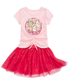Disney Little Girls Princesses Dress Set