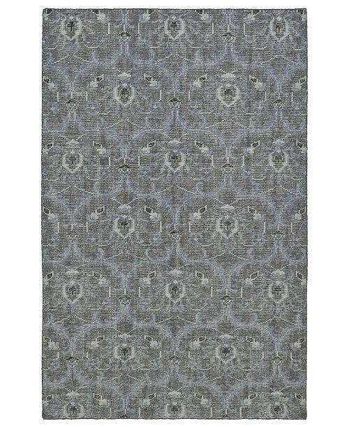 Kaleen Relic RLC03-68 Graphite 8' x 10' Area Rug
