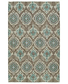 Relic RLC06-82 Light Brown 2' x 3' Area Rug