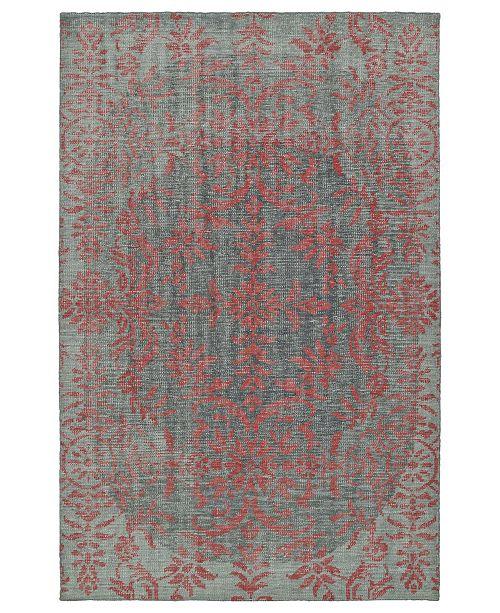 Kaleen Relic RLC08-92 Pink 2' x 3' Area Rug