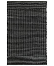 "Colinas COL01-38 Charcoal 5' x 7'6"" Area Rug"