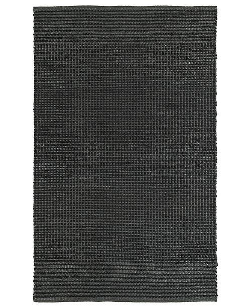 """Kaleen Colinas COL01-38 Charcoal 5' x 7'6"""" Area Rug"""