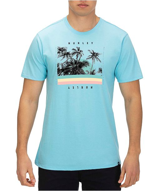 Hurley Men's Palm Retro Graphic T-Shirt