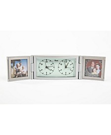 Photo Frame Alarm Desk Clock