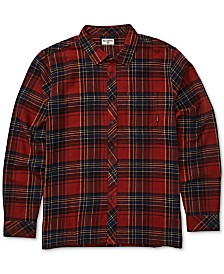 Billabong Men's Coastline Plaid Flannel Shirt