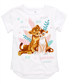 Disney Toddler Girls Simba & Nala T-Shirt