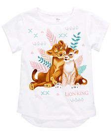 Disney Little Girls Simba & Nala T-Shirt