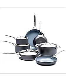 Paris Pro 11-Pc. Ceramic Non-Stick Cookware Set