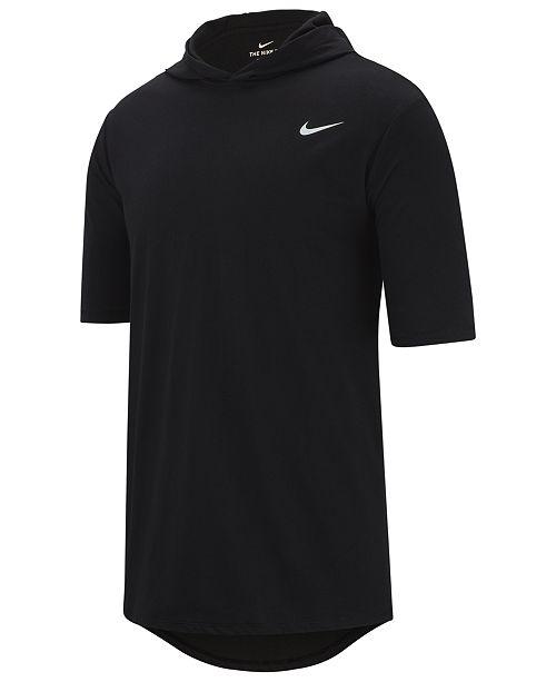 Nike Men's Dri-FIT Short-Sleeve Hoodie