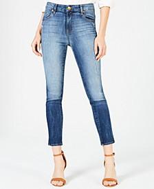 Meghan High-Rise Ankle Cigarette-Leg Jeans