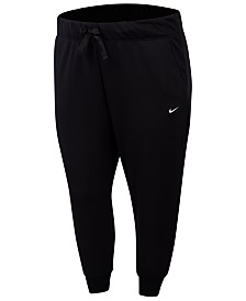 Nike Plus Size One Dri-FIT Fleece Training Pants