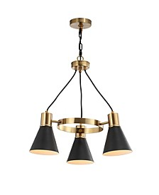 "Apollo 22"" 3-Light Adjustable Modern Metal LED Task Pendant Lamp"
