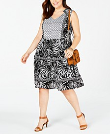 Plus Size Peasant Dress, Created for Macy's