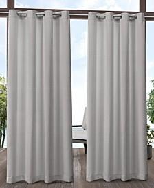 """Aztec Indoor/Outdoor Grommet Top Curtain Panel Pair, 54"""" x 96"""""""