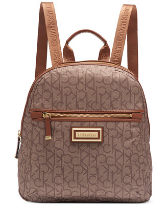 utloppsbutik mysig färsk grossisthandlare Calvin Klein Signature Belfast Backpack & Reviews - Handbags ...