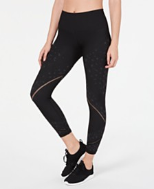 Ideology Tonal-Print Seamless Leggings, Created for Macy's