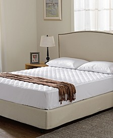 Quilted Queen Mattress Pad/Protector