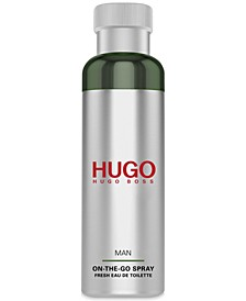 Men's HUGO Man Fresh Eau de Toilette On-The-Go Spray, 3-oz.