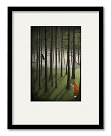 Winter Land Framed and Matted Art Collection