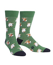 Sock It To Me Men's Dapper Goats Socks