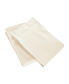 Superior 650 Thread Count Cotton Solid Pillowcase Set - King