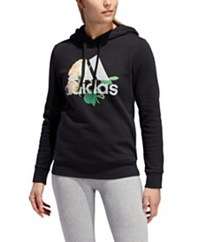 adidas Work In Progress Essentials Floral Hoodie