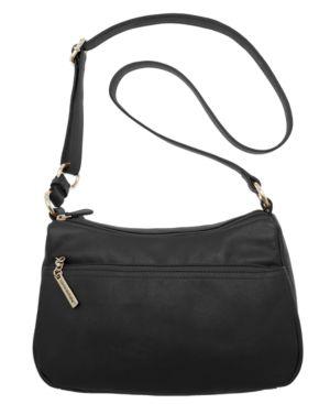 GIANI BERNINI   Giani Bernini Nappa Leather Double Entry Hobo, Created For Macy'S   Goxip