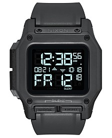 Nixon Men's Digital Regulus Strap Watch 46mm
