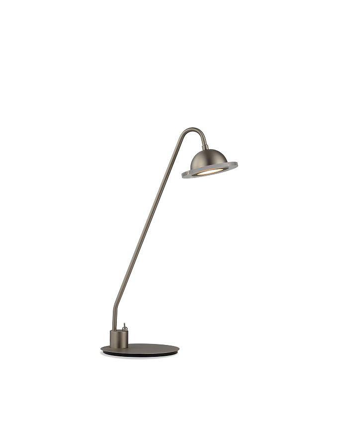 NOVA of California - Laurel Accent Table Lamp Satin Nickel