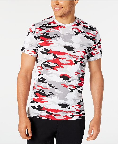 American Rag Men's Multi-Color Camo T-Shirt, Created for Macy's