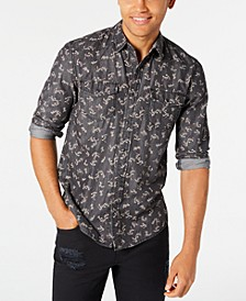 Men's Ditsy Floral Vine Shirt