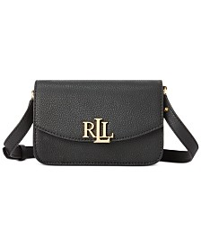 Lauren Ralph Lauren Madison Pebbled Leather Convertible Belt Bag