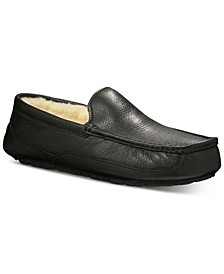 Men's Ascot Moccasin Slippers