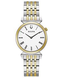 Women's Regatta Two-Tone Stainless Steel Bracelet Watch 30mm