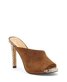 Ryanne High Heel Mules